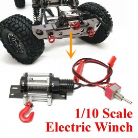 Racing 1:10 RC Car Crawler Steel Wired Winch Control Unit Set Type A YA-0389
