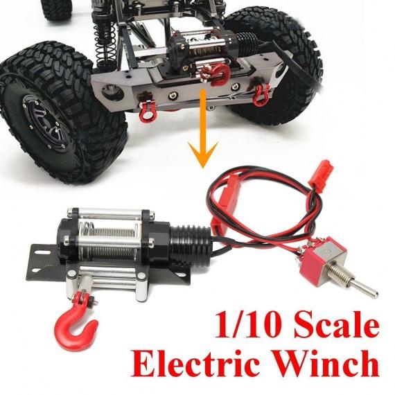 Racing 1:10 RC Car Crawler Steel Wired Winch Control Unit Set Type A YA-0389