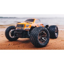 ARRMA 1/10 GRANITE 4x4 3S BLX Brushless Monster Truck RTR, Orange/Black