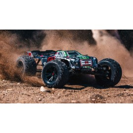 ARRMA 1/8 KRATON 6S BLX Brushless Monster Truck 4WD RTR, Black/Green