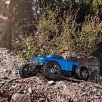 ARRMA 1/10 BIG ROCK CREW CAB 4x4 3S BLX Brushless RTR, Blue