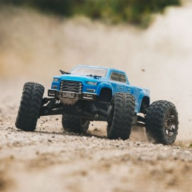 ARRMA 1/10 BIG ROCK CREW CAB 4x4 3S BLX Brushless RTR, Blue