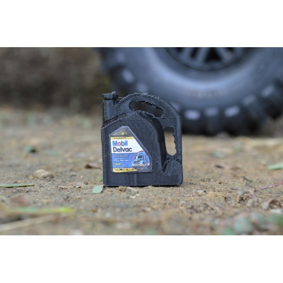 Exclusive RC 1 Gallon Oil Jug (Mobil)