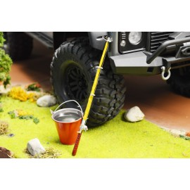 Yeah Racing 1/10 RC Rock Crawler Large Bucket RC4WD Axial SCX10 YA-0354
