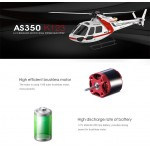 XK AS350 K123 6CH BRUSHLESS 3D6G SYSTEM RC HELICOPTER RTF 2.4 GHZ