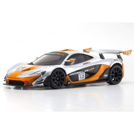 32324SO-B MINI-Z RWD McLaren P1 GTR Silver/Orange MR-03 RS