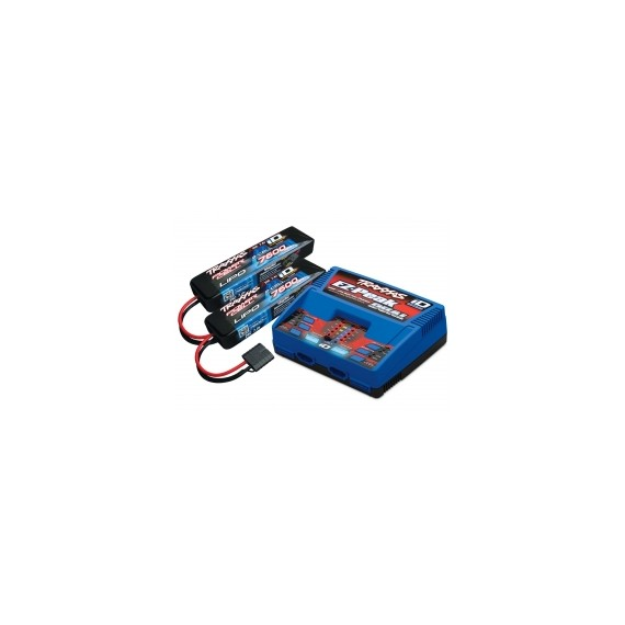 Battery/charger complet 7600mAh 7.4V 2-cell 25C LiPo battery (2))
