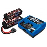 Battery/charger completer pack6700mAh 14.8V 4-cell 25C LiPo battery (2))