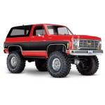 vTraxxas TRX-4 1/10 Trail Crawler Truck w/'79 Chevrolet K5 Blazer (ROJA)