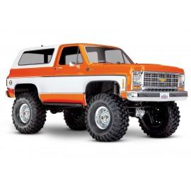 vTraxxas TRX-4 1/10 Trail Crawler Truck w/'79 Chevrolet K5 Blazer (NARANJA)