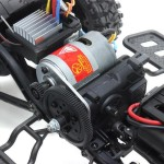 HG P601 1/10 2.4G 6WD RC Car Electric Off-Road Crawler Vehicles RTR Model