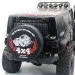 1/10 Spare Tire Cover Body Parts for TRX4 SCX10 D90 KM2 D90 RC Crawler