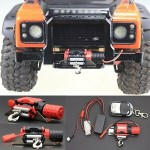 Winch Traction All Metal Type A For 1/10 RC Crawlers