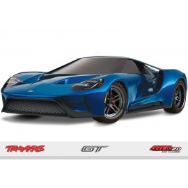 FORD GT 1/10 RTR Touring Car (AZUL)