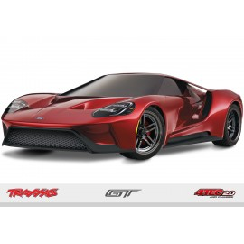 FORD GT 1/10 RTR Touring Car (ROJO)