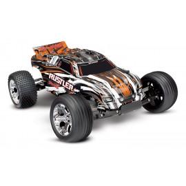 RUSTLER 1/10 RTR 2WD (NARANJA)