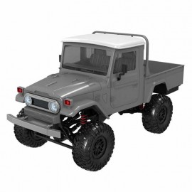 MN Model MN45 RTR 1/12 2.4G 4WD Rc Car with LED Light Crawler Climbing Off-road Truck - GRIS