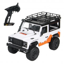 MN 99 2.4G 1/12 4WD RTR Crawler RC Car Off-Road Buggy For Land Rover Vehicle Model - BLANCO