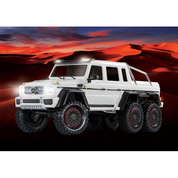 TRX-6 Mercedes-Benz G63 AMG 6x6 (BLANCO)