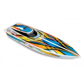 Traxxas Blast Race Boat 1/10 Scale, Electric, RTR (AMARILLO)