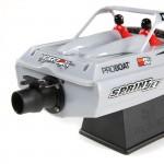 "Sprintjet 9"" Self-Righting Jet Boat Brushed RTR, Silver"