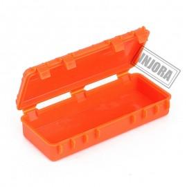 3PCS Plastic Travel Storage Box Set for 1/10 RC Crawler D90 Axial SCX10 TRX4 Car NARANJA