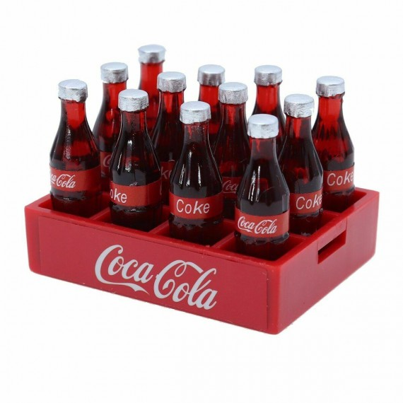 1:10 RC Parts Accessories Decoration For 1/10 Rock Crawler Car For Axial Traxxas COCA-COLA