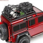 1/10 RC Rock Crawler Elastic Luggage NEGRO