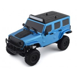 Panda Hobby Tetra X1 1/18 RTR Scale Mini Crawler con radio de 2.4GHz (azul)