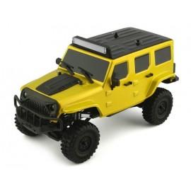 Panda Hobby Tetra X1 1/18 RTR Scale Mini Crawler con radio de 2.4GHz (amarillo)