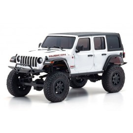32521W MINI-Z 4×4 Jeep Wrangler Unlimited Rubicon Bright White RS