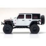 32521W MINI-Z 4×4 Jeep Wrangler Unlimited Rubicon Bright White RS