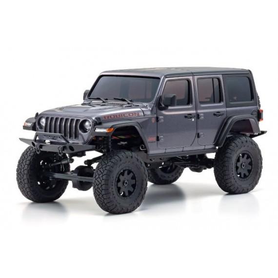 32521GM MINI-Z 4×4 Jeep Wrangler Unlimited Rubicon Granite Crystal Metallic RS