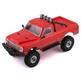 HobbyPlus CR-18 Convoy 1/18 RTR Scale Mini Crawler (Rojo)