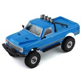 HobbyPlus CR-18 Convoy 1/18 RTR Scale Mini Crawler (Azul metálico)