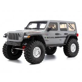 1/10 SCX10 III Jeep JLU Wrangler con portales RTR, gris