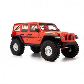 1/10 SCX10 III Jeep JLU Wrangler con portales RTR, naranja