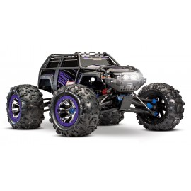 Summit 1/10 scale 4wd extreme terrain monster truck morado