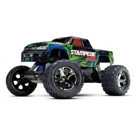 Traxxas Stampede VXL Brushless 1/10 RTR 2WD Monster Truck (Green)