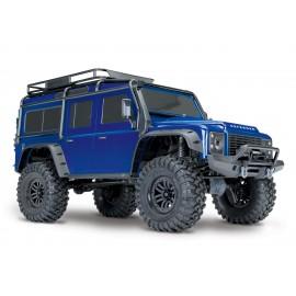 Trx-4 Scale & Trail Crawler Defender 4wd RTR W/ TQi Radio (AZUL)