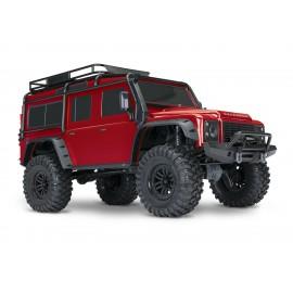 Traxxas TRX-4 Escala 1/10 Trail Rock Crawler w/Land Rover Defender Body (Rojo)