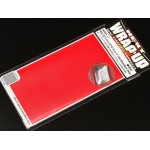 REAL 3D Lens Decal Block Delta 130mm x 75mm - Red