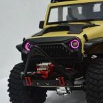 20mm Angel Eye Color LED Light RC Crawler Car Headlight For 1/10 Axial SCX10 D