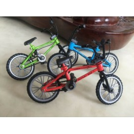 1/10 RC Scale Mountain Bike Off Road Alloy Bike Rock Crawler Accessory  AZUL
