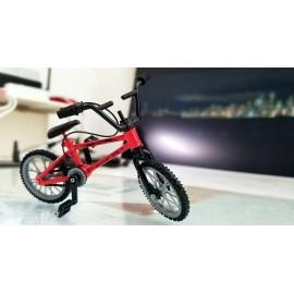 1/10 RC Scale Mountain Bike Off Road Alloy Bike Rock Crawler Accessory ROJO