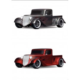 Traxxas 4-Tec 3.0 1/10 RTR Touring Car w/Factory Five '35 Hot Rod Truck Body (Red)