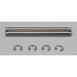 Traxxas Chrome Suspension Pin w/Clip 44mm (2)