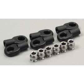 Traxxas Rod Ends Short w/Hollow Balls T-Maxx 2.5 (6)