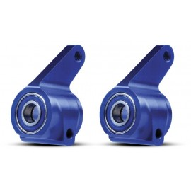 Traxxas Aluminum Steering Blocks Blue Rustler/Stampede