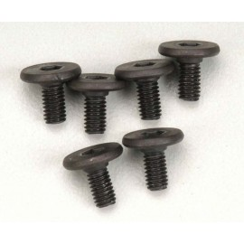 Traxxas Flat Head Machine Hex Drive Screws 3x6mm (6)